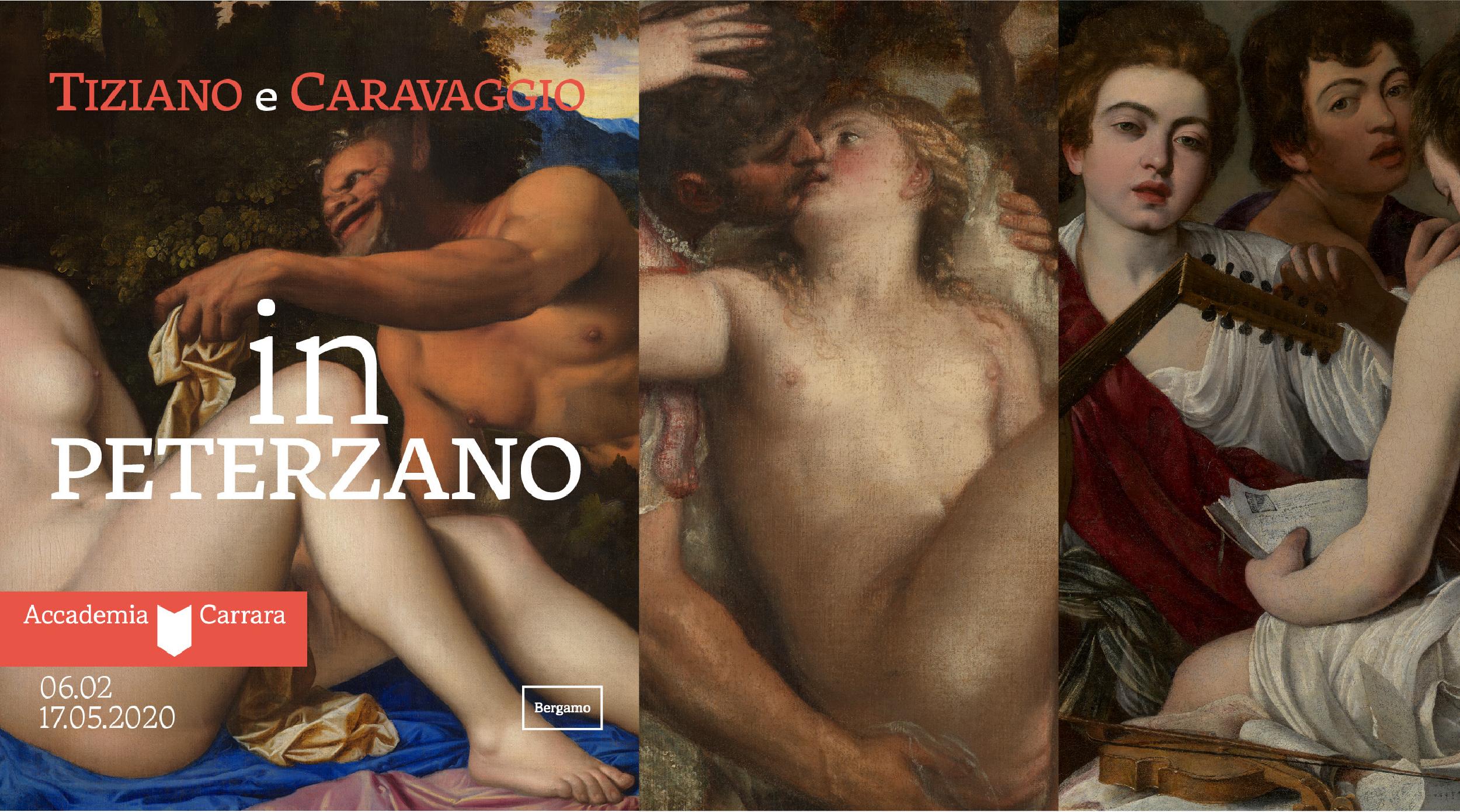 Tiziano e Caravaggio in Peterzano - Accademia Carrara - Bergamo